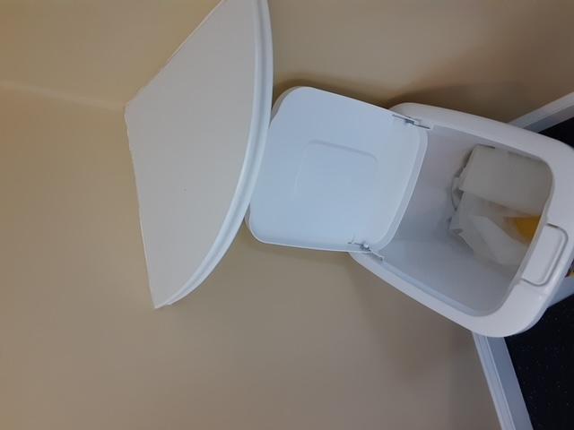 Unused Wipes Found in Gym Trashcan #2